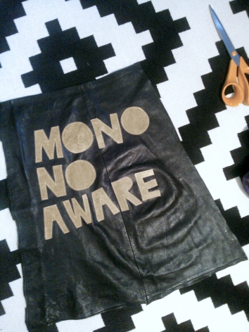 mono no aware placing letters