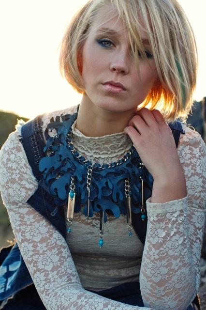 Fashion photoshoot Indigo tribe