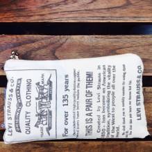 diy Levis purse