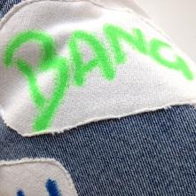 90`s print fabric BANG