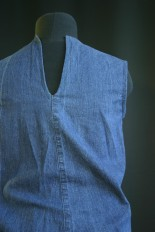 diy denim top