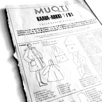Finnish Muoti+Kauneus fashion magazine patterns from 90´s