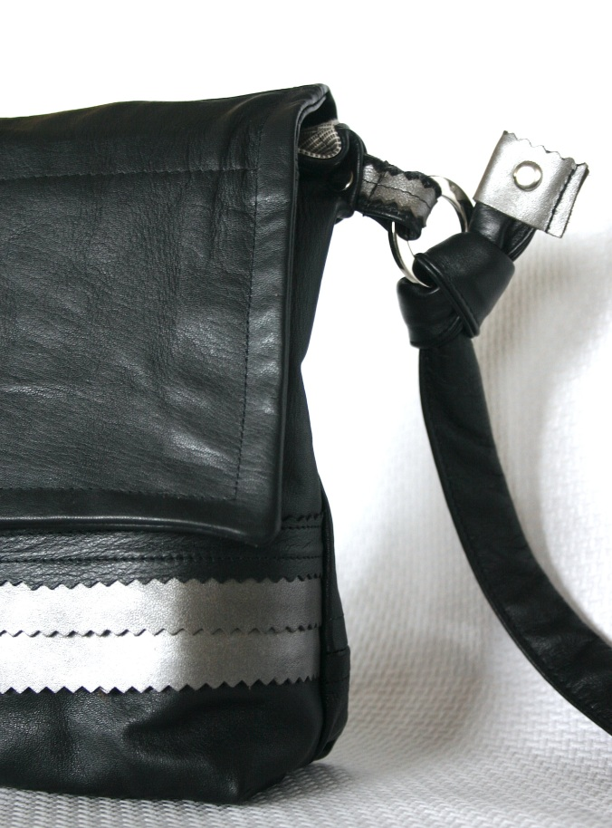 diy-black-and-silver-leather-bag-with-matching-details