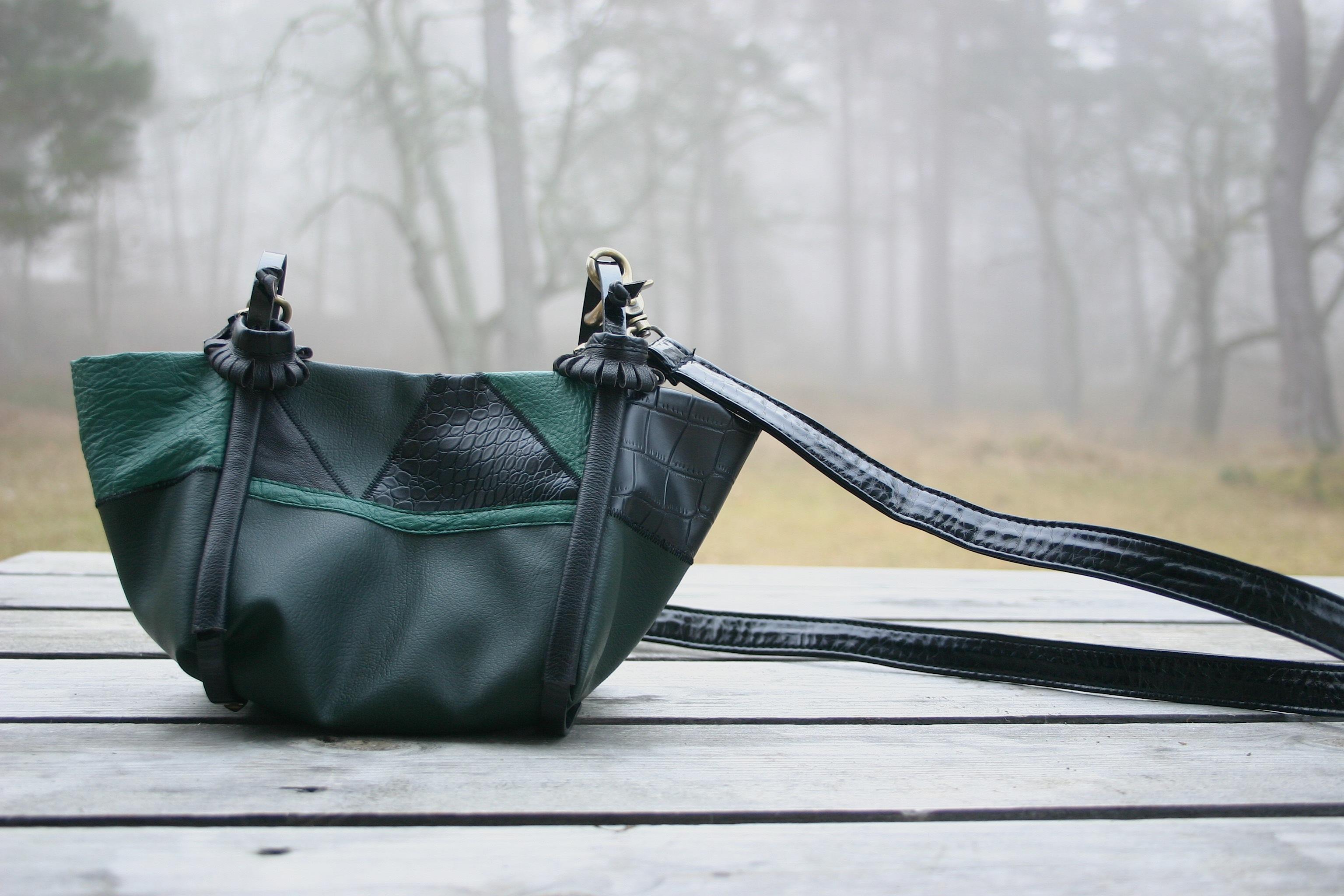 diy-greenish-leather-bag-with-cross-body-strap