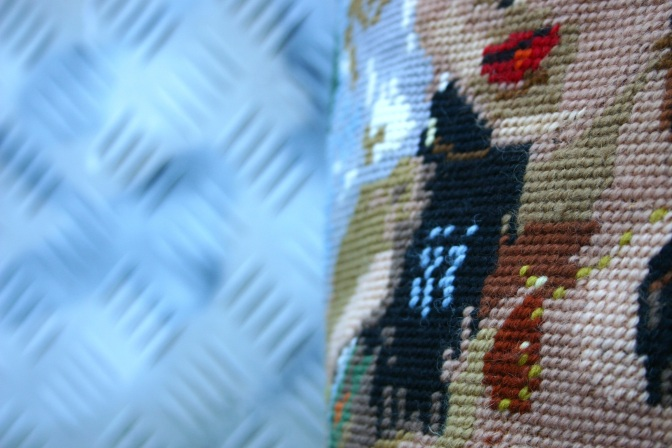 cross stitch Torino gypsy lady